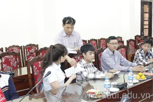 Gặp mặt học sinh-sinh viên khuyết tật ngày Người khuyết tật Việt Nam