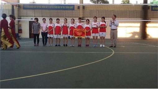 Chung kết và Trao giải Bóng chuyền nam CBVC-HSSV năm học 2015-2016