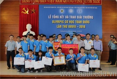 National Mechanics Olympic Contest 2016 Awarding Ceremony
