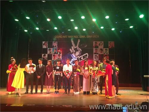 Chung kết cuộc thi giọng hát hay HSSV năm 2016