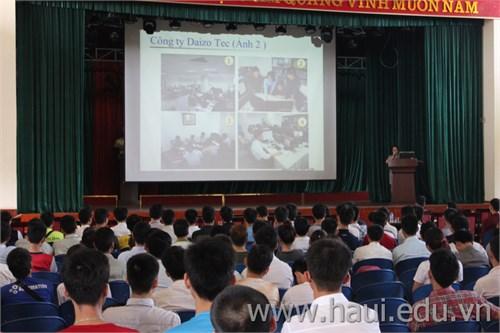 Hội thảo cơ hội việc làm của Công ty Daizo Tec