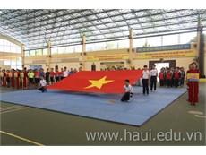 Khai mạc Giải vô địch Bóng ném Sinh viên Hà Nội mở rộng lần thứ III - Cup Văn phòng phẩm Hồng Hà