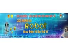 """Kế hoạch Tổ chức cuộc thi """"Sáng tạo Robot Khoa Điện tử """" lần thứ VI"""