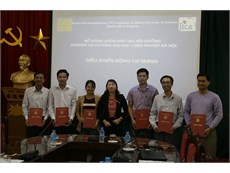 Bế giảng khóa đào tạo Điều khiển động cơ Servo của Dự án HaUI-JICA