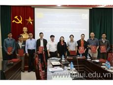 Bế giảng hai lớp đào tạo ngắn hạn thuộc Dự án HaUI-JICA