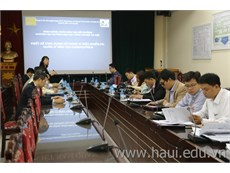 Khai giảng hai lớp đào tạo ngắn hạn thuộc Dự án HaUI-JICA: Thiết kế ứng dụng sử dụng vi điều khiển PIC và Quản lý đào tạo CUDBAS/PDCA