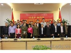 Gặp mặt nhân kỷ niệm 72 năm Ngày thành lập Quân đội nhân dân Việt Nam
