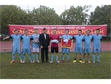 Chung kết Giải bóng đá CBVC-HSSV năm học 2016-2017