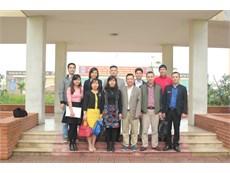 Khoa Công nghệ Hóa tổ chức buổi gặp mặt sinh viên Đại học khóa 11 tại cơ sở 3