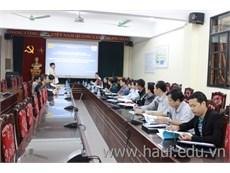 Dự án HaUI-JICA khai giảng hai lớp đào tạo giáo viên kỹ thuật dạy nghề đợt 8 (TOT8)