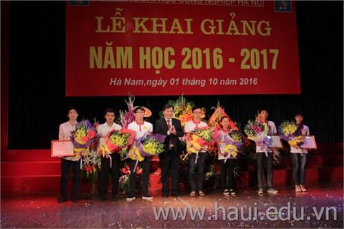 Khai giảng năm học mới 2016 - 2017