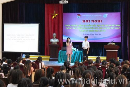 Tọa đàm `Phẩm chất, đạo đức phụ nữ Việt Nam thời kỳ đẩy mạnh công nghiệp hóa, hiện đại hóa đất nước`