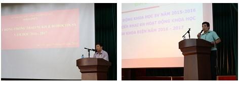 Lễ phát động phong trào NCKH & Robocon sinh viên năm học 2016 - 2017