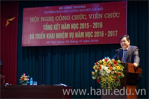 Hội nghị Công chức viên chức Trường Đại học Công nghiệp Hà Nội
