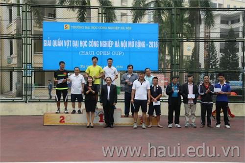 Giải Quần vợt Đại học Công nghiệp Hà Nội mở rộng năm 2016