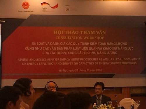 """Hội thảo dự án """"Năng lượng tái tạo và Hiệu quả năng lượng"""" tại Hà Nội"""