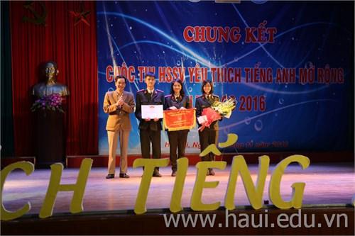 Chung kết cuộc thi `Học sinh sinh viên yêu thích Tiếng Anh mở rộng - Let's go` năm 2016