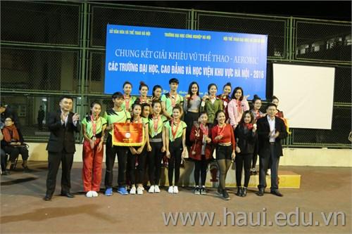 Chung kết giải `Khiêu vũ thể thao - Aerobic các trường đại học, cao đẳng và học viên khu vực Hà Nội` năm 2016