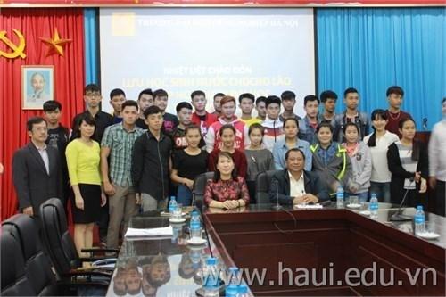 Gặp mặt lưu học sinh Lào năm học 2016 -2017