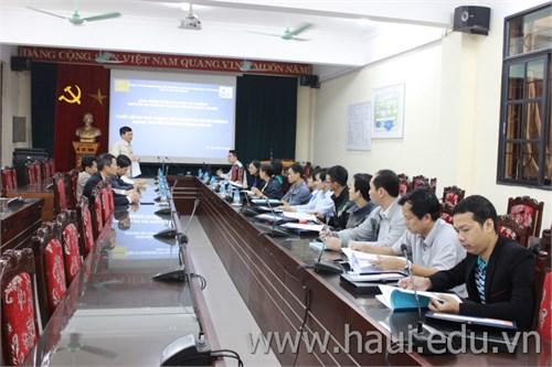 Khai giảng hai lớp đào tạo ngắn hạn thuộc Dự án HaUI-JICA