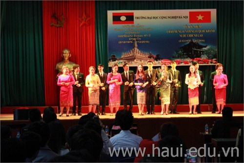 Lễ kỷ niệm 41 năm Ngày Quốc khánh nước CHDCND Lào