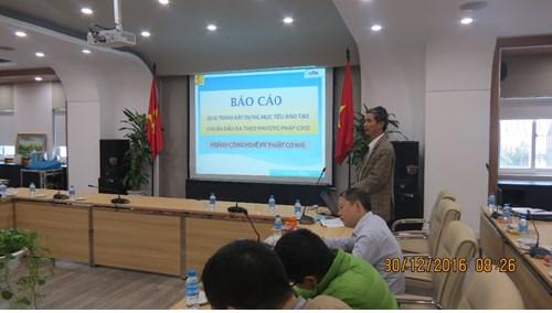 Hội thảo Xây dựng chuẩn đầu ra theo mô hình CDIO