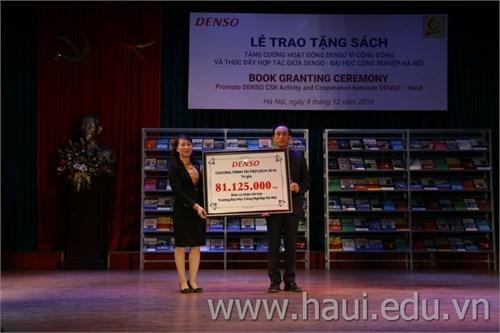 DENSO Book Granting Ceremony