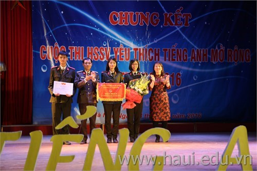 """Final Contest `Students love English - Let's go 2016"""""""