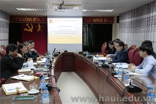 Korea Polytechnic University visits and works with Hanoi University of Industry