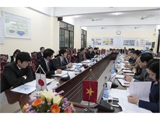 Ủy ban hỗn hợp điều phối Dự án HaUI-JICA họp lần thứ 6