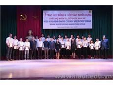 Lễ trao học bổng và Hội thảo tuyển dụng của Công ty TNHH DENSO Việt Nam
