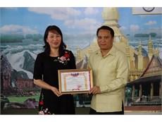 """Bế mạc """"Đại hội thể thao lưu học sinh Lào toàn thành phố Hà Nội"""" năm 2017"""