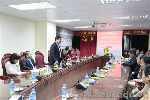 Meet and greet session with medical staff in commemoration of Vietnamese Doctor's Day