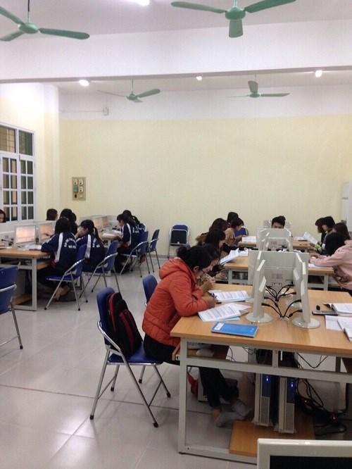 Cơ sở vật chất phục vụ giảng dạy của khoa Kế toán-Kiểm toán