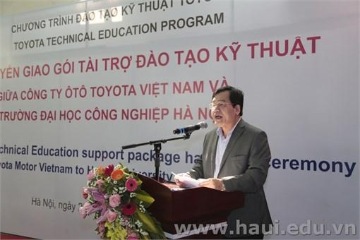 Trường Đại học Công nghiệp Hà Nội tiếp nhận chuyển giao gói
