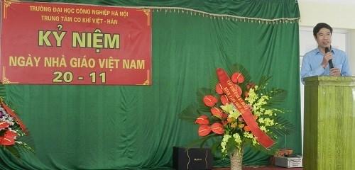 Lễ kỷ niệm ngày nhà giáo Việt Nam 20/11 - Trung tâm Cơ khí