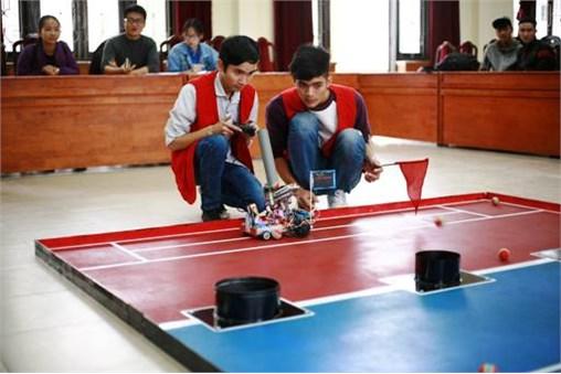 Hình ảnh cuộc thi Robocon mini lần thứ 6