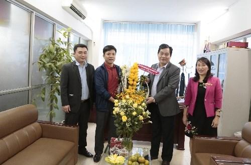 Hiệu trưởng chúc mừng Ngày Truyền thống ngành Thể thao Việt Nam