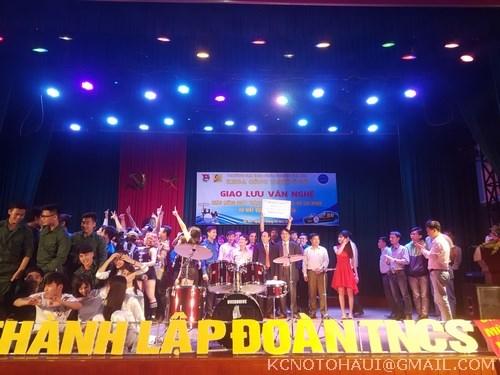Đêm Giao lưu văn nghệ chào mừng ngày thành lập Đoàn TNCS Hồ Chí Minh 26-3