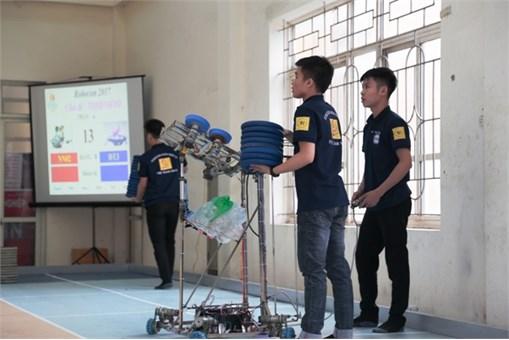 57 đội tuyển sẽ tranh tài tại Robocon Việt Nam 2017 khu vực phía Bắc