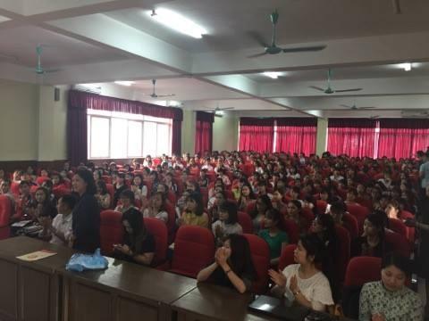 Hội thảo tuyển dụng khoa CNM-TKTT