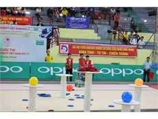 2 đội Robocon Đại học Công nghiệp Hà Nội vào chung kết toàn quốc Robocon 2017