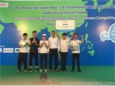 Supercup 50 Khoa Công nghệ Ô tô vô địch Cuộc thi