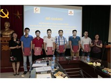 Closing Ceremony of the Short-Term Training Course on Basic Electricity and Basic Mechanical Engineering for Hanoi Beer – Alcohol - Beverage Corporation