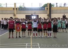 """Chung kết và trao thưởng """"Giải bóng đá Nữ Học sinh sinh viên"""" năm 2017"""