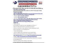 Kế hoạch Hội thảo giới thiệu chương trình liên kết đào tạo kỹ sư trình độ cao cho Công ty Nissan Techno VN và Công ty Pasona Tech VN