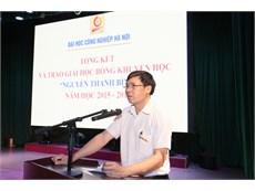 """Tổng kết và trao học bổng """"Nguyễn Thanh Bình"""" năm học 2015-2016"""