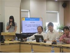 Hội thảo lấy ý kiến về chuẩn đầu ra ngành Công nghệ kỹ thuật điện tử, truyền thông