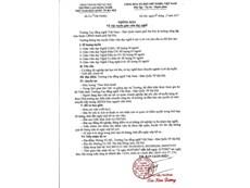 Trường Cao đẳng nghề Việt Nam - Hàn Quốc thành phố Hà Nội thông báo tuyển dụng