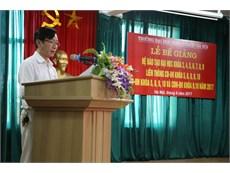 Lễ bế giảng cho sinh viên Đại học khóa 8 (2013-2017)